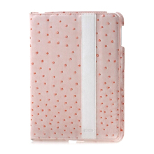 iPearl New iPad Ostrich Leather Case