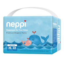 NEPPI Premium Diaper Pants - XL 22