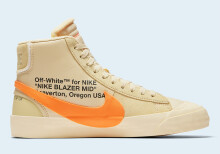 Nike Blazer Off White Hallow's Eve (orange/tan)
