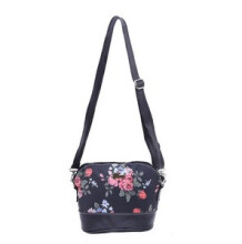 HRCN - TAS RANSEL / BACKPACK WANITA / BAG FEMALE BLUME - H 6159  - BLACK