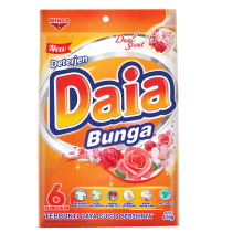 DAIA Powder Detergen Bag - Bunga 620g