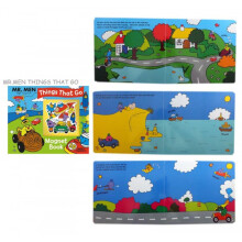 Egmont Mr. Men Buku Cerita Anak - Things That Go Magnet Book
