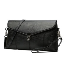 Jantens Women Crossbody Sac a Main Soft Leather Shoulder Bag Crossbody Bag Black