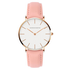 HANNAH MARTIN Wanita Jam Tangan Leather Watch CB36-FF