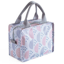 [COZIME] Portable Bento Box Food Thermal Bag Insulated Lunch Bag for Office School 1#1