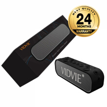 VIDVIE Wireless Speaker SP902 / Bluetooth / Portable Speaker - Black