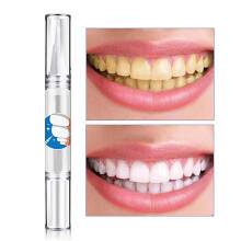 Farfi 5ml Teeth Whitening Pen Remove Stain Tooth Bleaching Dental Care Kit Portable as the pictures