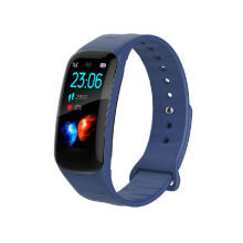 FLOVEM Health Butler 1.14 Inch Full Screen OLED Heart Rate Blood Pressure Bluetooth Smart Bracelet Blue