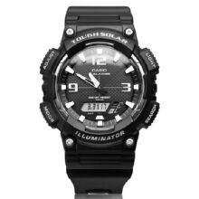 Casio AQ-S810W-1A Sports double display waterproof electronic watch-Black