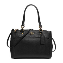 Coach Women's Black Handbag Shoulder Messenger Bag F25397IMBLK
