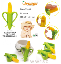 Cute Baby - Teether Jagung Corn Toothbrush Gigitan Bayi