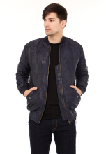 COTTONOLOGY Bomber Seal Navy