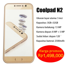 Coolpad note6 lite Gold 32G