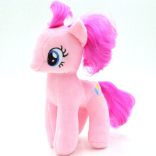 BL 18cm Cartoon Kids TV MLP Animal Little Horse Doll Plush Toys -One Size -