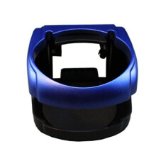 Jantens High Quality New Universal Auto Car Vehicle Blue Drink Bottle Cup Holder 9.5 cm x 8.5 cm x 5.5 cm P