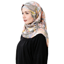 RAFHANAH Hijab Mlovi Scarf - Orange [One Size]