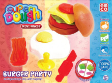 EMCO Super Dough Mini Maker Burger Party 6148
