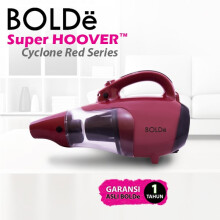 BOLDE Vacuum Cleaner Super Hoover Cyclone - Red Series