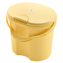 Rotho Nappy Pail Top - Vanilla Honey Pearl