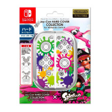 Splatoon Joycon Hard cover for Switch - Ink Clear