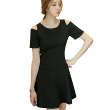 Yu Mu Korean fashion knit temperament slim slimming dress