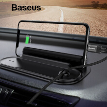 Baseus Mobile Phone Holder For Car Phone Holder Temporary Parking Card Phone Number Plate Auto Sticker