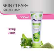 MARINA Facial Foam Natural Skin Clear+ 100ml
