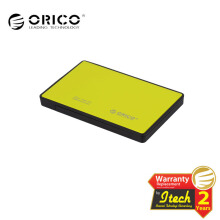 ORICO 2588US3-OR ( 2.5in HDD / SSD Mobile Enclosure with USB 3.0 ) yellow