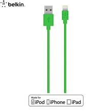 Belkin Apple MFI Certified Data Cable / Charging Line Lightning Interface Blue 1.2m for iPhone 7/7 Plus / 6s / 6s Plus / SE