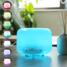 Toko Sinyo - Essential Oil Aroma Diffuser Humidifier 7 Led Color Night Light-500ml