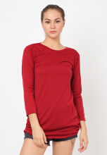 Shop at Banana Donela Top 21 Red All Size