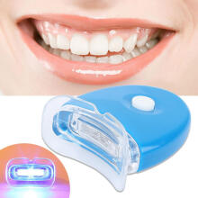 Farfi Mini Tooth Care Whitening Light LED Teeth Whitener Oral Dental Treatment Tool Blue