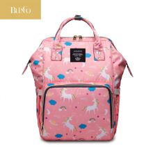 BLINGO VR01 Backpack care maternity bag unicorn waterproof baby care diaper storage bag travel backpack mom