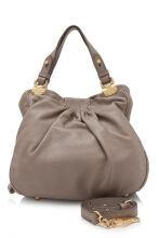 Pre-Owned Miu Miu Leather Shopping Bag Top Handle