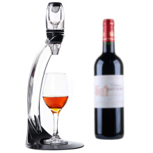 Famirosa Magic Deluxe LED Wine Aerator Set Essential Decanter Gift Box  - Black