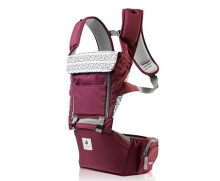 Pognae All New No.5 Waterproof Outdoor Hipseat Carrier Burgundy