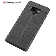 MOONMINI Ultra Slim Fit Litchi grain TPU Phone Case Protective Cover for Samsung Galaxy Note 9