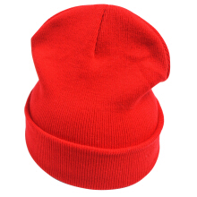 SiYing Fashion warm solid color skull cap knitted beanie hat