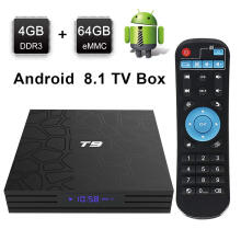 Android TV Box T9 81 Box4GB RAM 64GB ROM RK3328 Quad