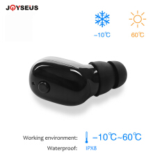JOYSEUS Hot M760i Bluetooth Earphones Sport Waterproof IPX8 Wireless headphones With Mic for swimming for phone PK S530 S520 M1 Black