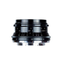 7artisans 35mm F1.2 Prime Lens for Canon EOS M APS-C Black