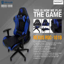 Rexus Kursi Komputer Pc Gaming Chair Rgc 101 Kursi Gaming