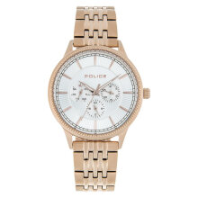 Police Sublime PL.14923JSR/04M Men Silver Dial Rose Gold Stainless Steel Strap [PL.14923JSR/04M]