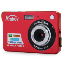 CDC3 2.7 Inch TFT Screen 18.0MP CMOS 5.0MP Anti-shake Digital Video Camera with 8X Digital Zoom