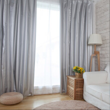 FOOJO UV full sunblown bedroom finished curtain sunshade curtain 1.9 meters wide * 2.6 meters high
