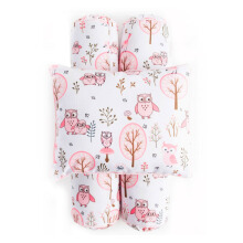 COTTONSEEDS Pillow and Bolster Set Owl in the Tree