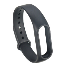 Bakeey™ Replacement Silicone Wrist Strap WristBand Bracelet for XIAOMI Miband 2 Black
