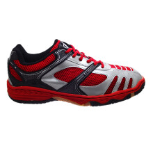 Fans R3 R - Badminton Shoes Red Silver