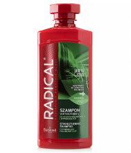 RADICAL Strengthening shampoo for weak and falling out hair 400ml