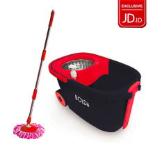 BOLDE SORENTO SUPER  MOP Stainless Basket - Red